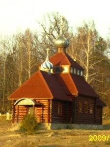 Церковь Домашковичи. Витебская область. Беларусь левша