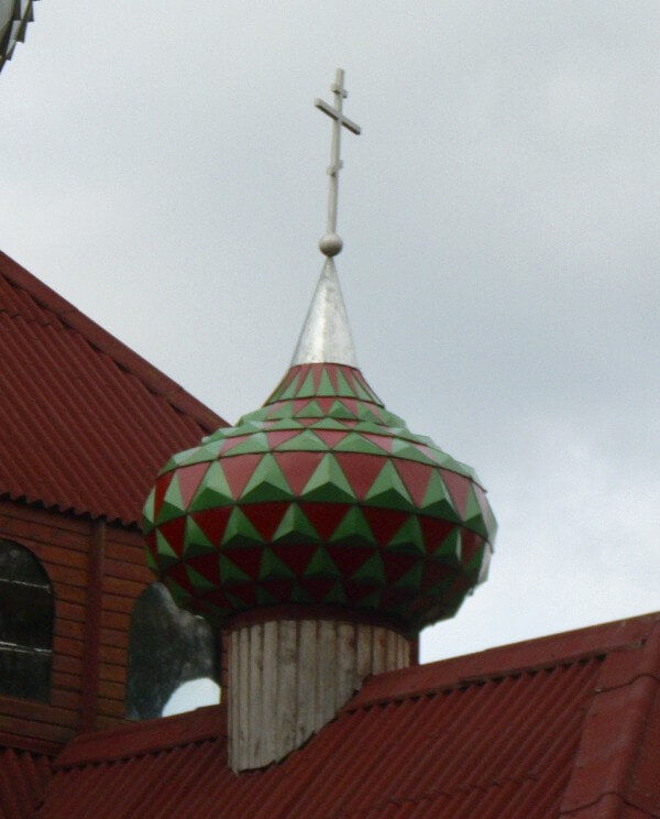 Купол на церкви Домашковичи 2