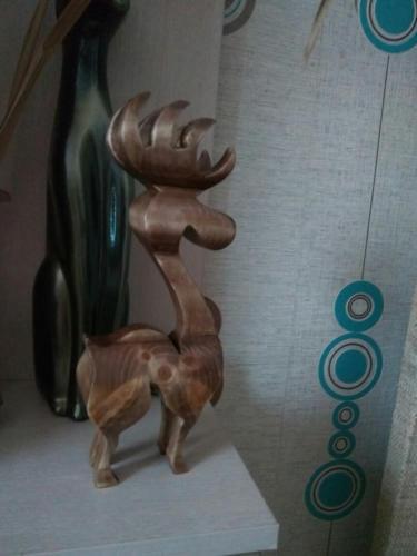 Деревянный лось