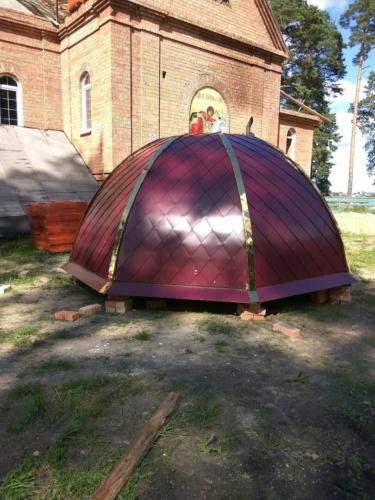 Восьмигранный купол большой