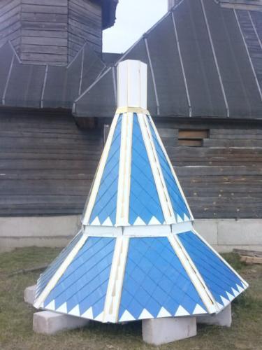 Подкупольная крыша