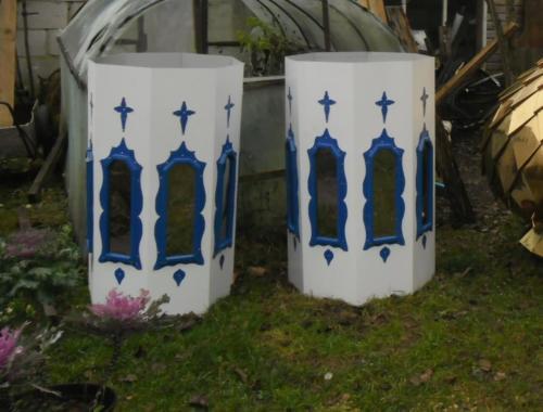 Барабаны синий нитрит титан