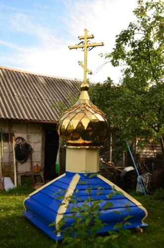 Два купола, стакан, крест комплект