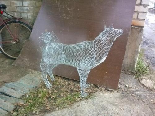 Садовая скульптура Год Собаки
