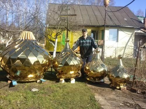 Представление размера куполов
