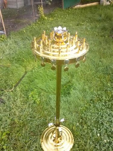 напольный подсвечникдиаметр 40см(жертвенник)
