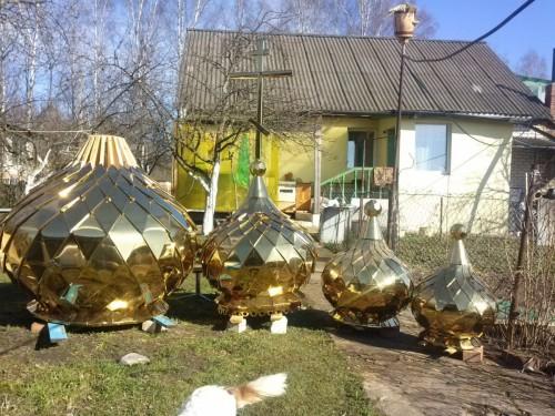размеры куполов