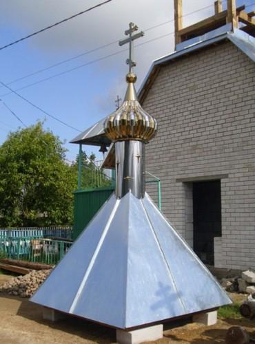 Купол церкви со стаканом