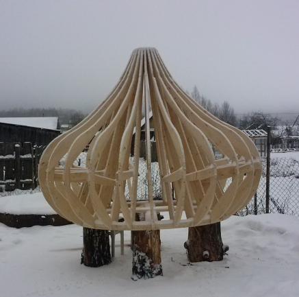 каркас купола
