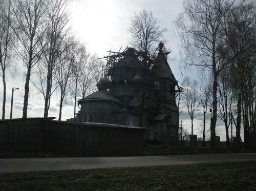 Церковь до установки