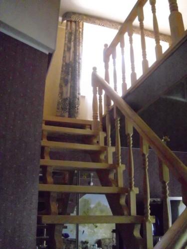 деревянная лестница  №4