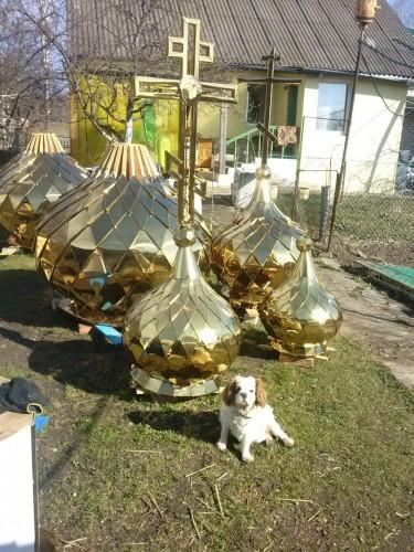 сборка куполов