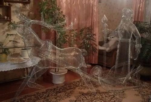 """Садовая скульптуры """"Новый Год"""" 2"""