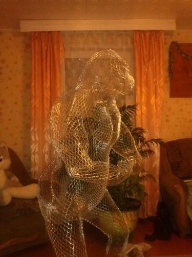 """Садовая скульптура """"Обезьяна"""" 2"""