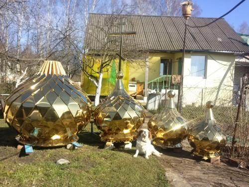 композиция куполов